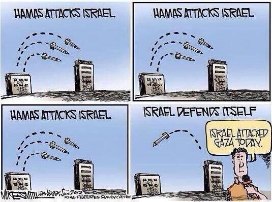 Pro-Israel Cartoon